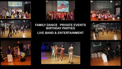 Family Dance - Private Events  - Birthday - Live Music
